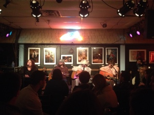 Bluebird Cafe - Nashville, TN (Alison Clement, Adam Brooks Dudding, Chris Henry, Leith Loftin)